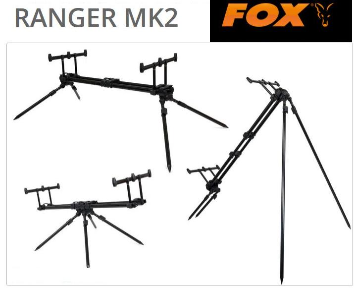 Fox Ranger Pod MK2 3er Rod Pod Wallerrutenhalter Kaufen